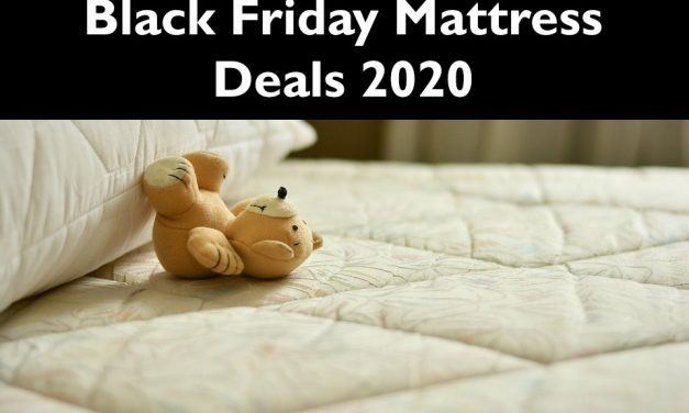 Mattress Deals & Voucher Codes For Black Friday & Cyber Monday 2020